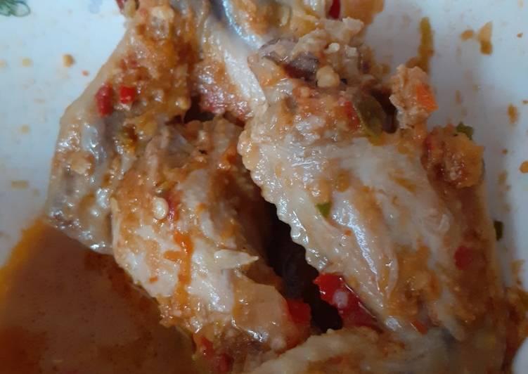Resep: Bacem ayam pedas istimewa