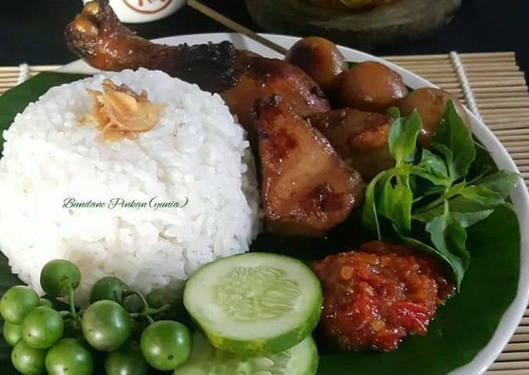 Cara memasak #202 Ayam goreng bumbu bacem istimewa