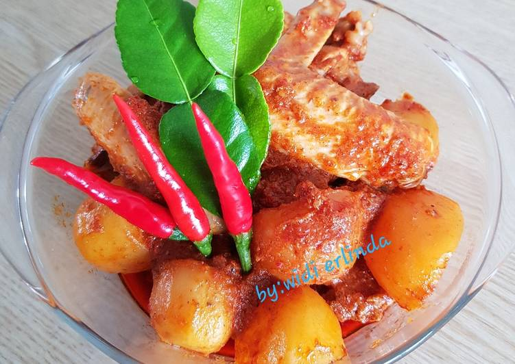 Resep: Rendang ayam sedap