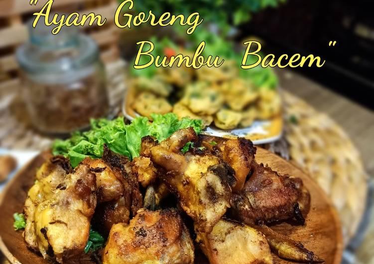 Ayam goreng bumbu bacem