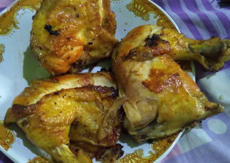 Resep: Ayam goreng bumbu bacem presto ala resto