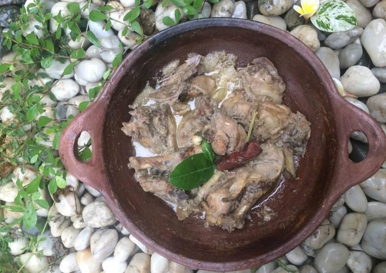 (5) Ayam Kampung Masak Puteh #bikinramadhanberkesan