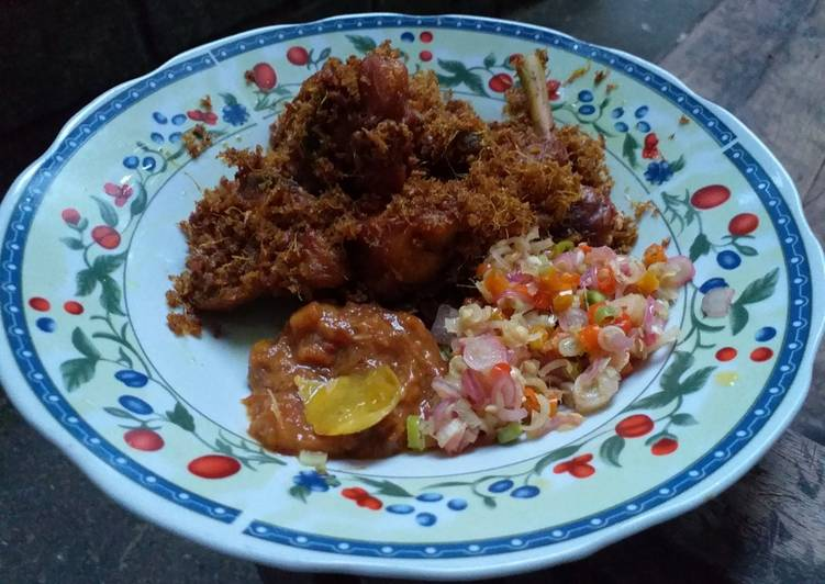 Cara Mudah memasak Ayam Goreng Kalasan (mudah dan enak) istimewa