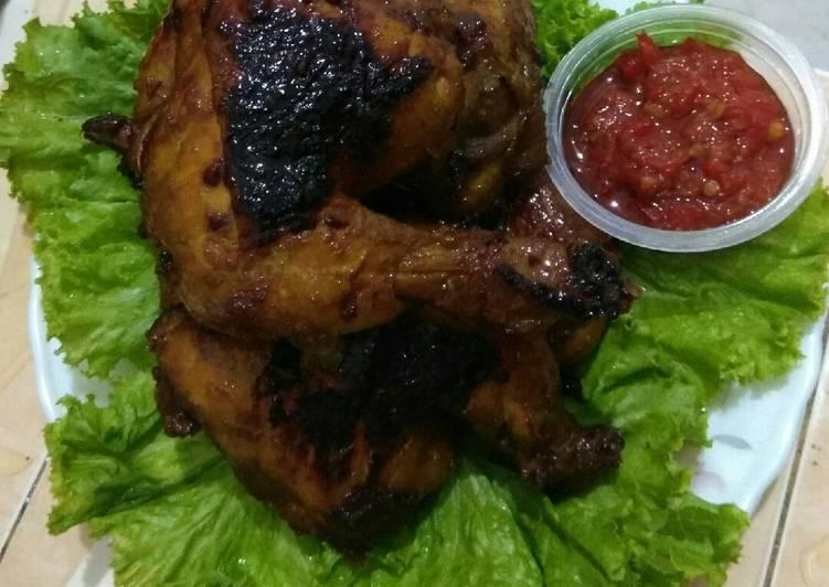 Resep membuat Ayam bakar Kalasan yang bikin ketagihan