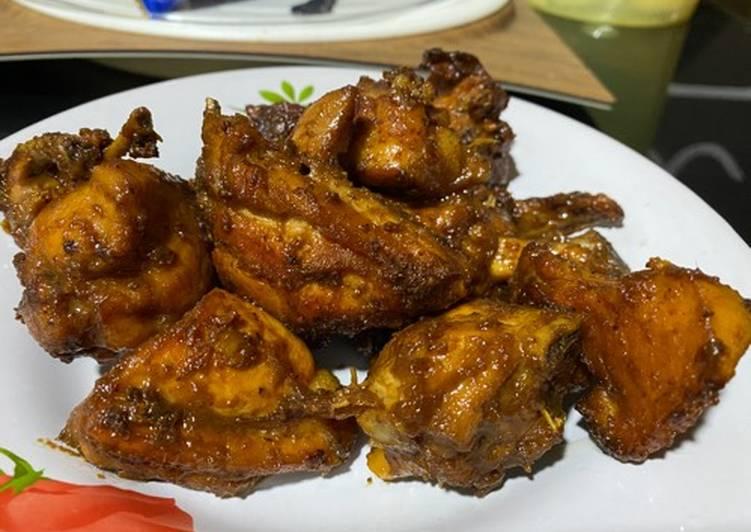 Resep memasak Ayam goreng kalasan ala resto