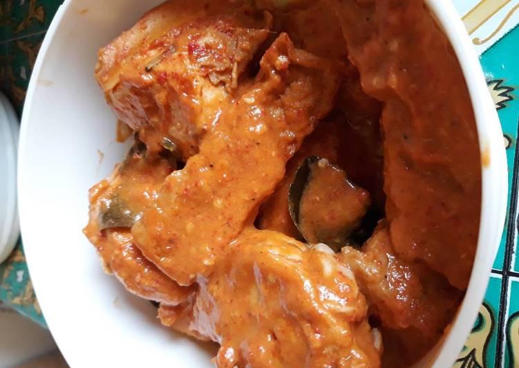 Cara memasak Rendang ayam ala-ala rumahan (resep ibuk mertua) enak