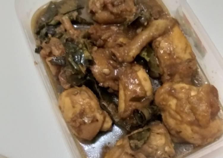 Resep membuat Ayam Kalasan Simple Ala Anak Kost #RecookBundaEi yang menggugah selera