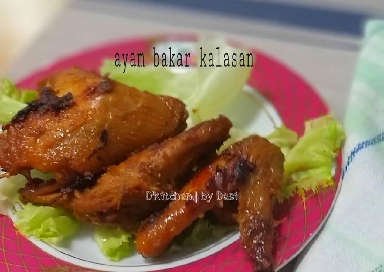 Cara memasak Ayam bakar kalasan yang bikin ketagihan