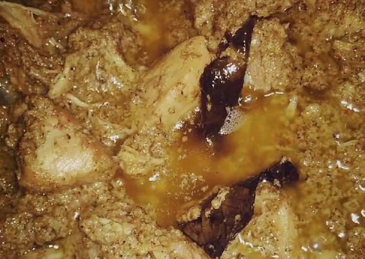 Cara memasak Rendang ayam ala resto