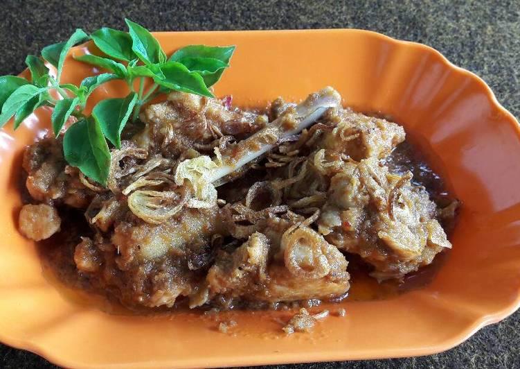 Resep: Rendang ayam ala nayola lezat
