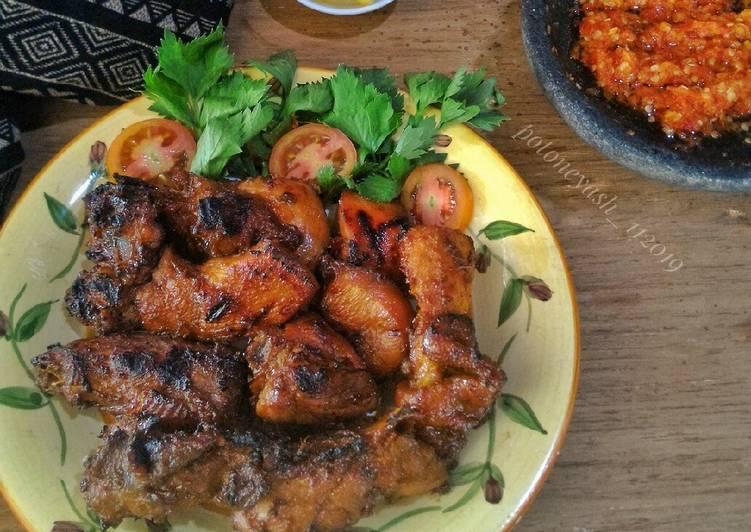 Cara mengolah Ayam Bakar Kalasan Pedas yang menggugah selera
