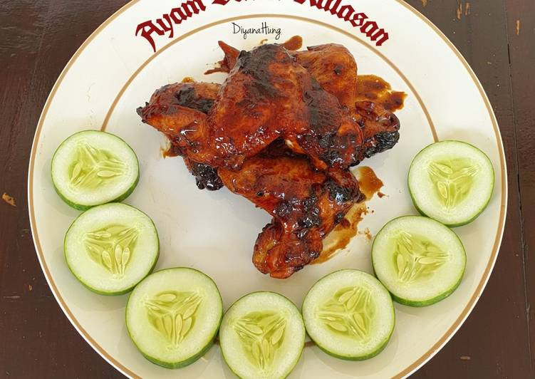 Resep: Ayam Bakar Kalasan ala resto