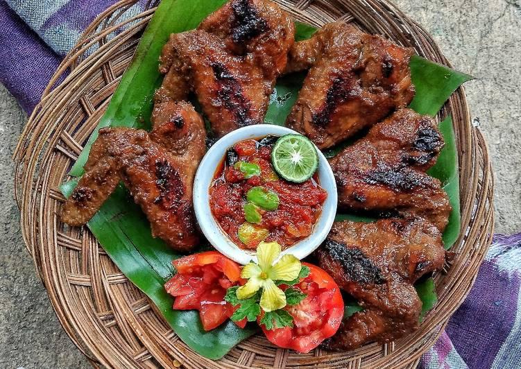 Resep mengolah Ayam bakar kalasan sambel pete sedap