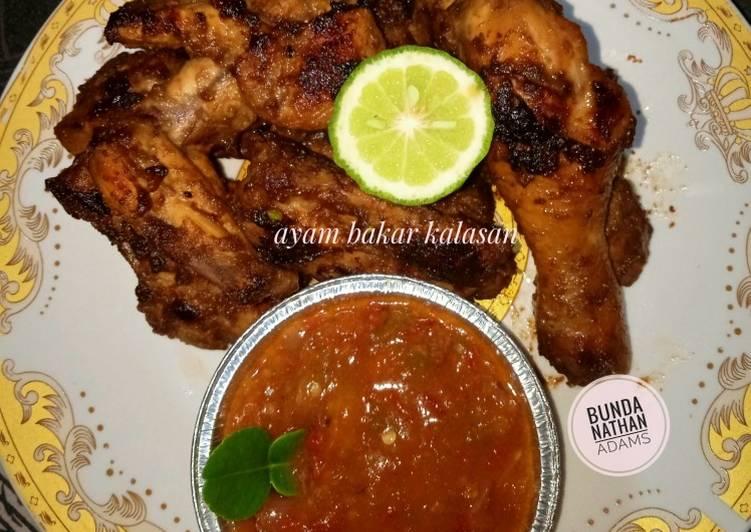 Cara memasak Ayam Bakar Kalasan + sambal ala resto