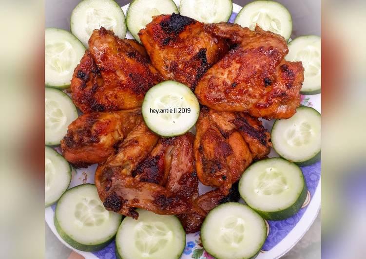 Resep mengolah Ayam Bakar Kalasan ala resto