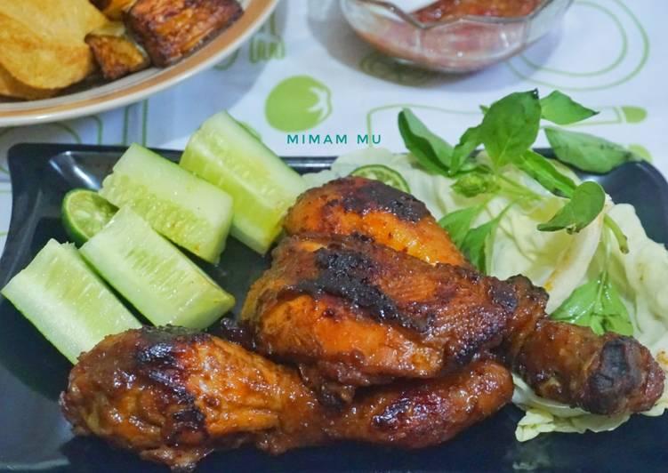 Cara memasak Ayam Bakar Kalasan yang menggugah selera