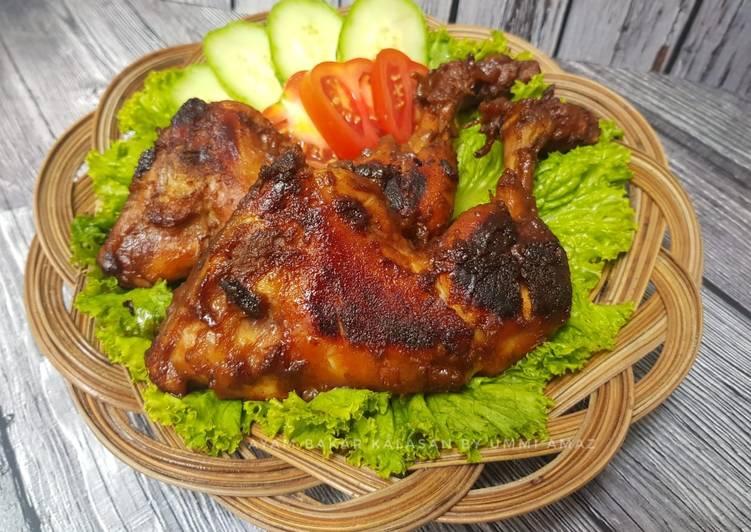 Resep: Ayam bakar kalasan yang menggugah selera