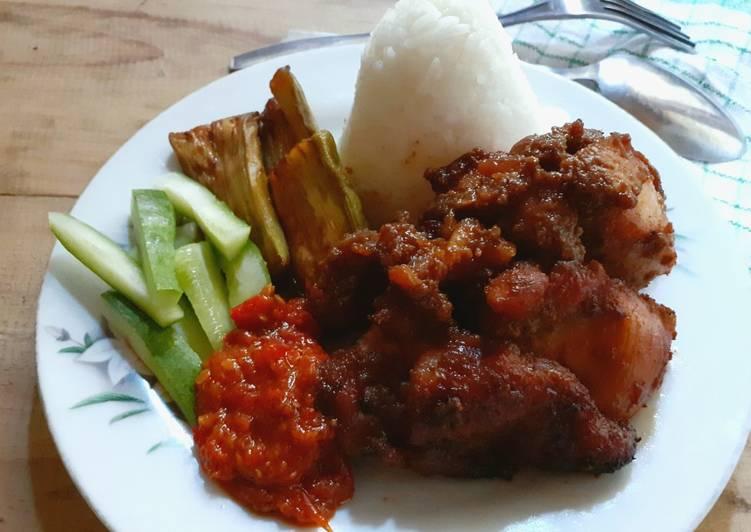 Cara memasak Ayam bakar kalasan resep dari bunda Ei