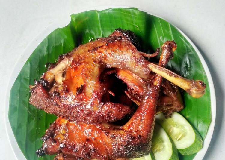 Cara Mudah mengolah Ayam Goreng Kalasan ala resto