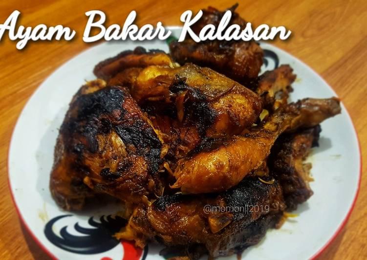 Resep: Ayam Bakar Kalasan yang bikin ketagihan