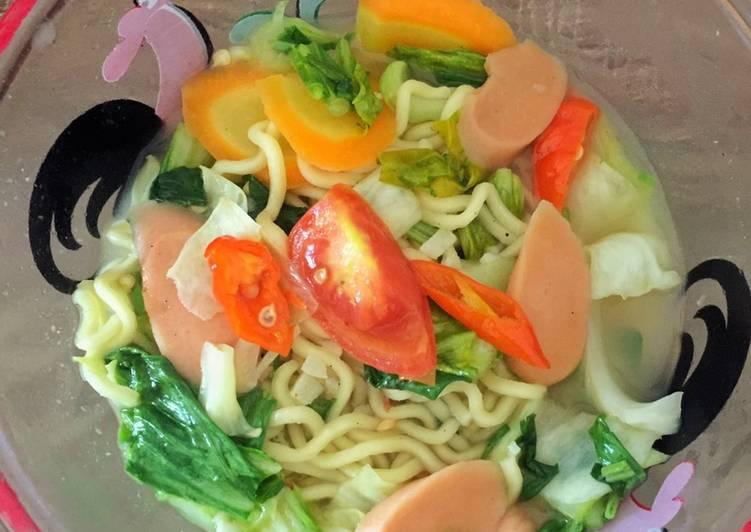 Resep memasak Mi Godhog Nyemek yang menggugah selera