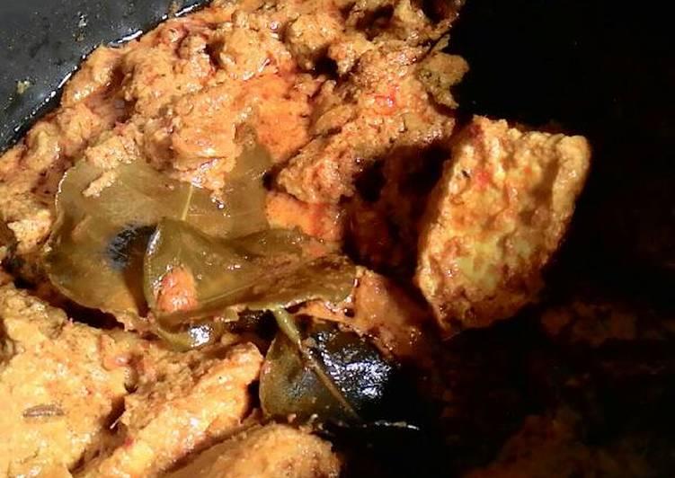 Resep memasak Rendang basah yang bikin ketagihan