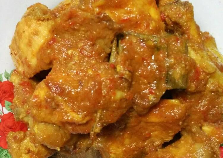 Resep membuat Rendang ayam enak