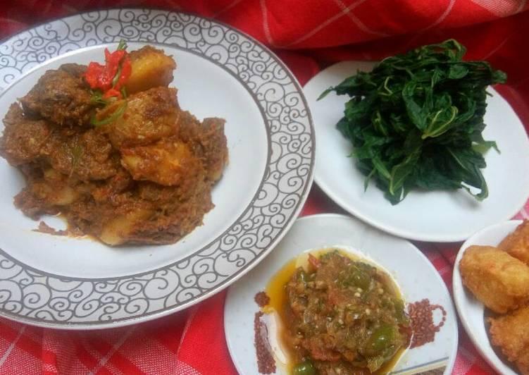 Resep memasak Rendang komplit ucu (enak) yang menggugah selera