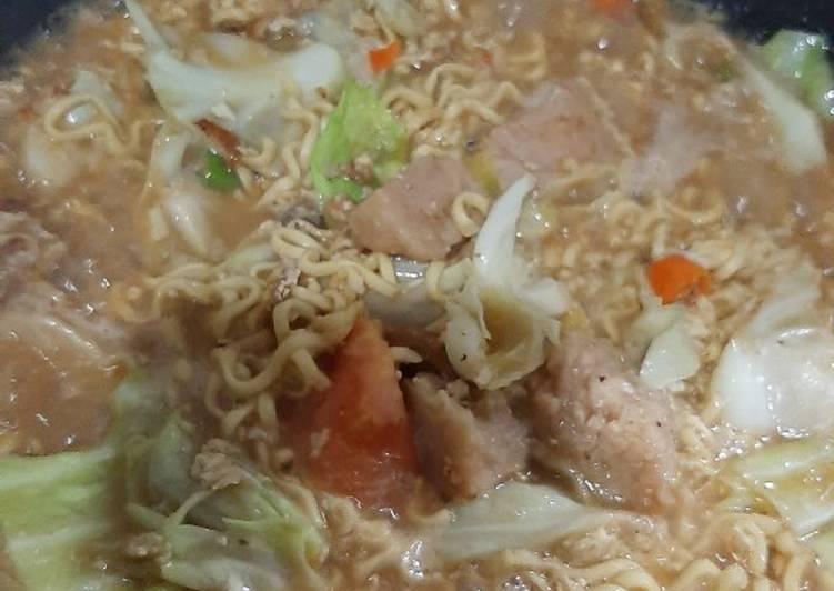 Cara memasak Mie godog jawa yang bikin ketagihan