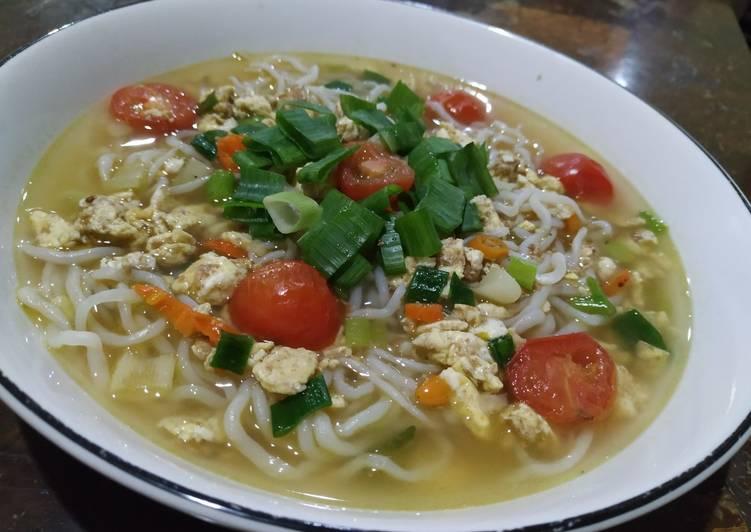 Resep memasak Mie Godog Jawa#keto yang menggugah selera