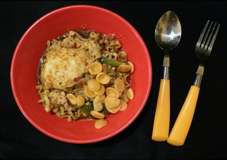 Resep memasak Mie Jawa kuah pedas sedap