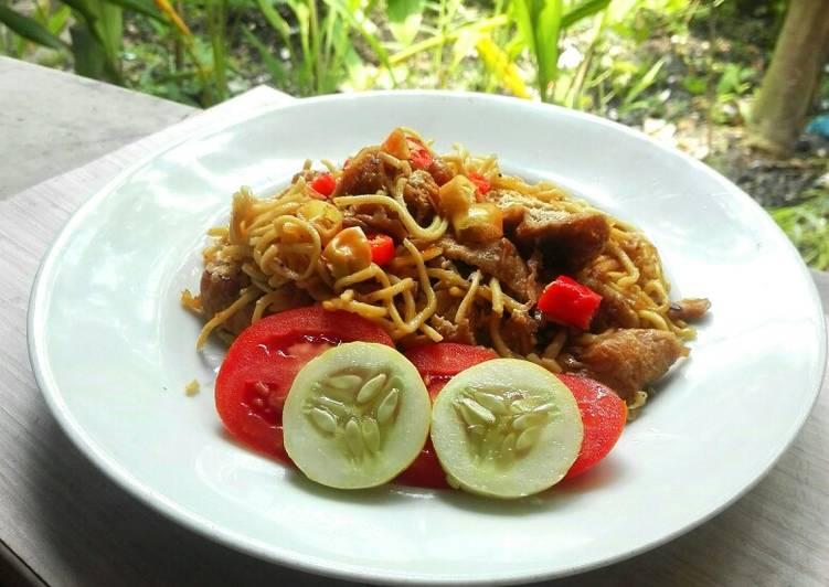 Resep memasak Bakmi Jawa sederhana yang menggugah selera