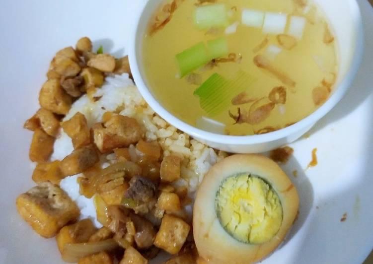 Resep: Bakmoy Ayam Bakso yang bikin ketagihan