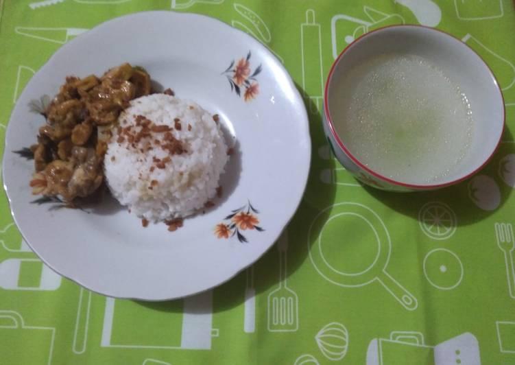 Resep: Nasi Bakmoy Ayam Tahu yang menggugah selera