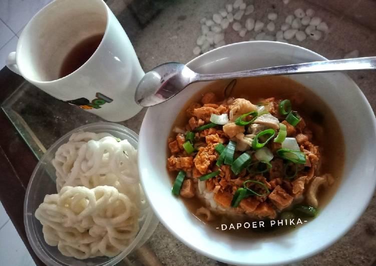 Resep: Bakmoy Ayam Tahu yang menggugah selera