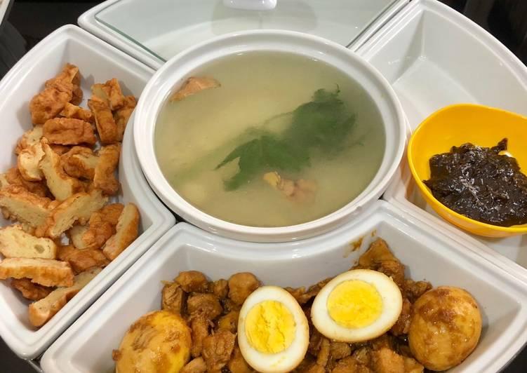 Resep: Bakmoy ayam + gorengan udang lezat
