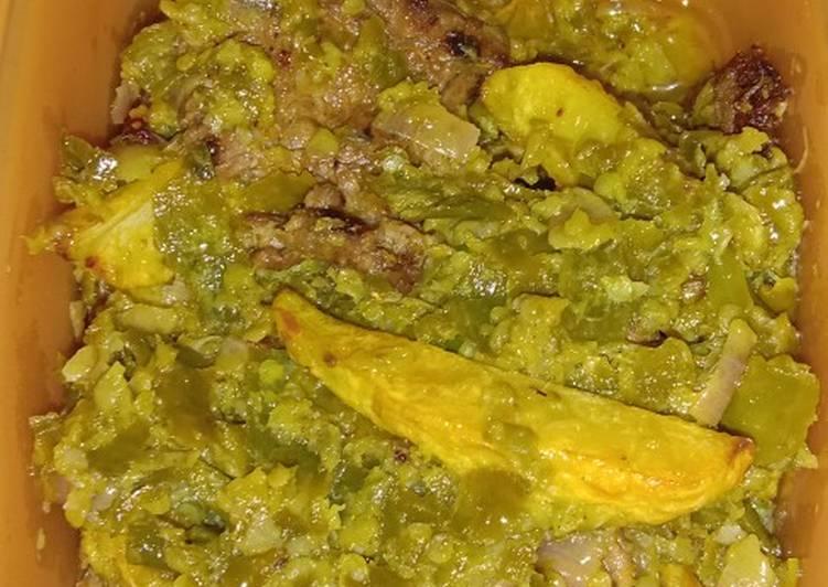Resep memasak Dendeng batokok lado hijau lezat
