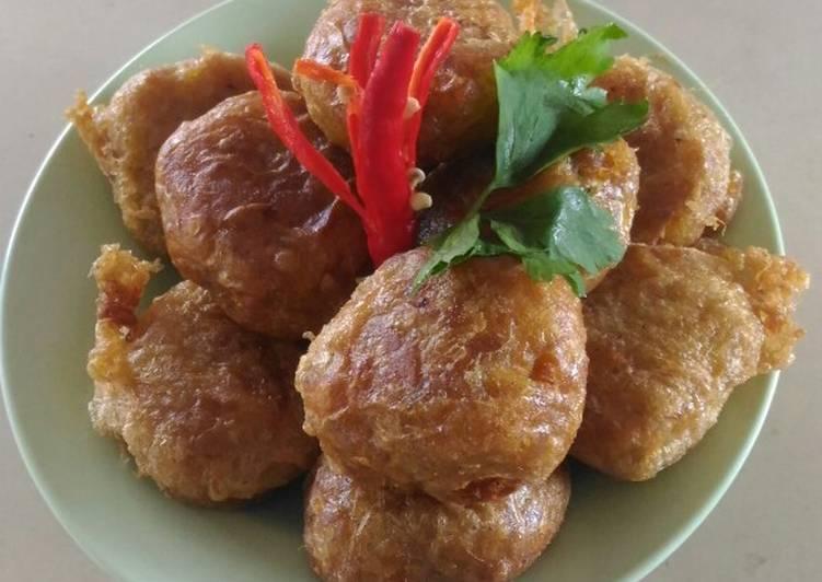 Resep membuat Perkedel kentang praktis ala resto