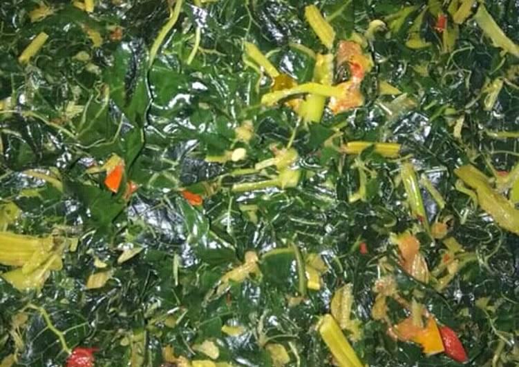 Cara Mudah mengolah Oseng daun pepaya lezat