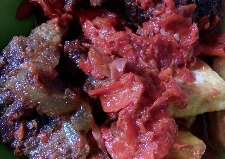 Resep: Dendeng batokok cabe merah #BikinRamadhanBerkesan sedap