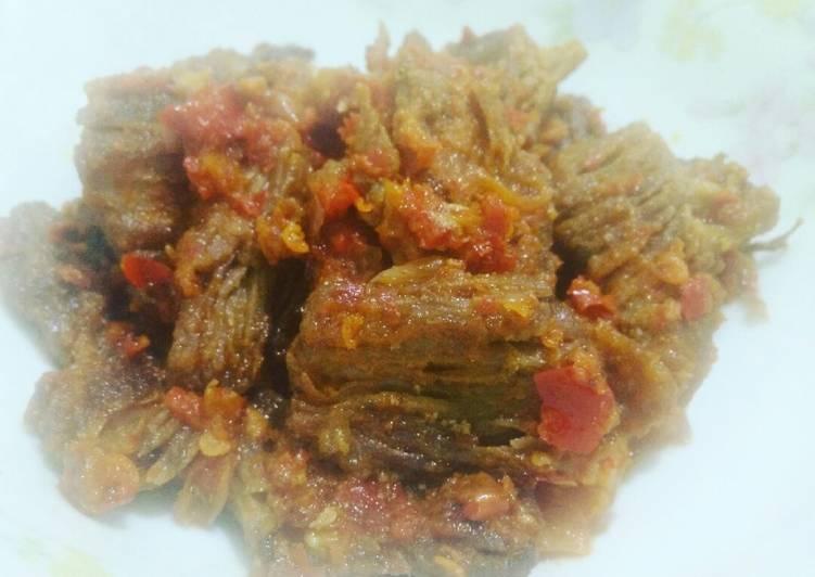 Resep memasak Dendeng batokok
