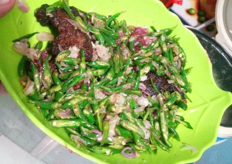 Resep memasak Dendeng batokok cabe iris. Simple no ribedd endess mantapss ala resto