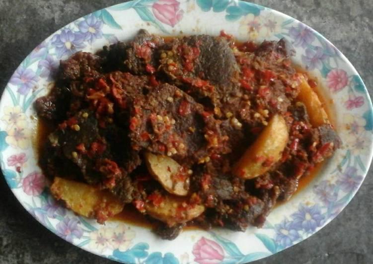 Resep memasak Dendeng Batokok Balado Khas Padang yang bikin ketagihan