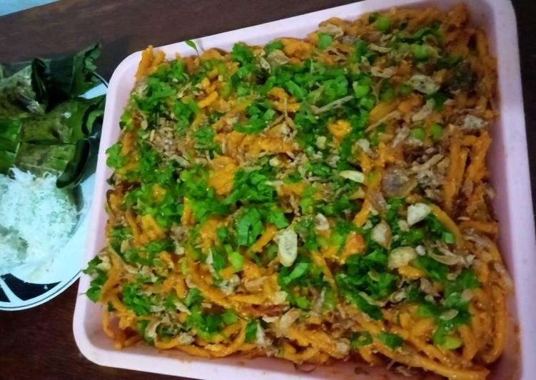 Cara memasak Mie Aceh yang bikin ketagihan