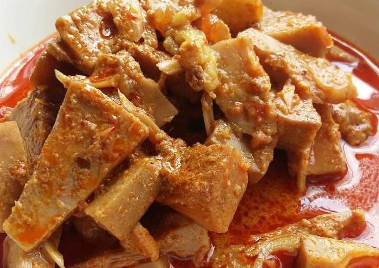 Cara Mudah memasak Gulai cubadak (gulai nangka padang)