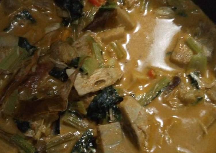 Resep: Sayur Nangka /Gulai Cubadak khas Bukittinggi enak