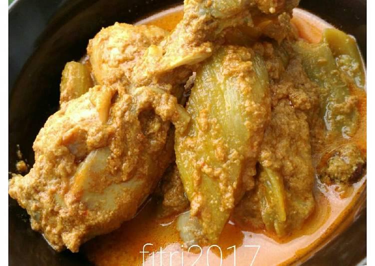 Resep: Gulai ayam jo kamumu yang menggoyang lidah