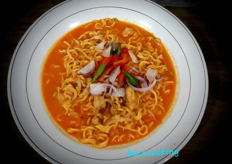 Resep: Mie Aceh ikan tuna sedap