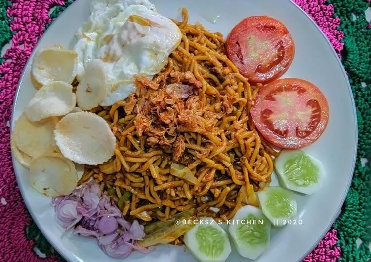 Resep: 137. Mie Aceh Goreng Nyemek ala resto