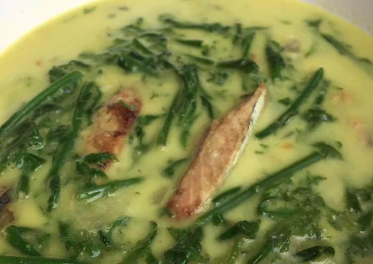 Resep membuat Gulai pakis & tongkol lezat